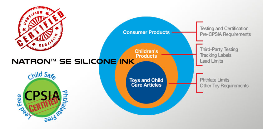 Silicone ink CPSIA Compliance - Boston Industrial Solutions