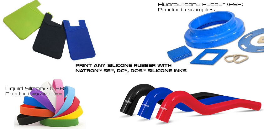 types of silicone rubber - silicone ink line - silicone ink - Boston Industrial Solutions