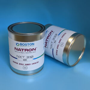 Natron NxT Screen printing inks for Neoprene, nitrile, and elastic bands