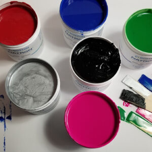SE Silicone Ink Screen Printing