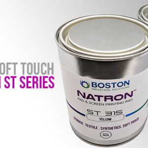 Natron ST Series ink / pad printing ink for soft touch