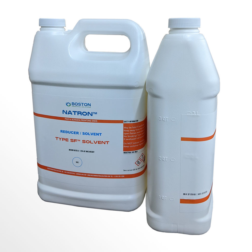 Type SF™ Solvent for silicone inks - Boston Industrial Solutions
