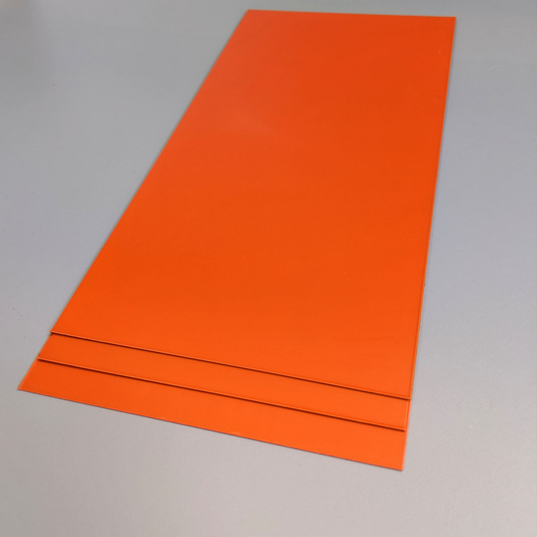 photosensitive orange pad printing plates (WS 43)