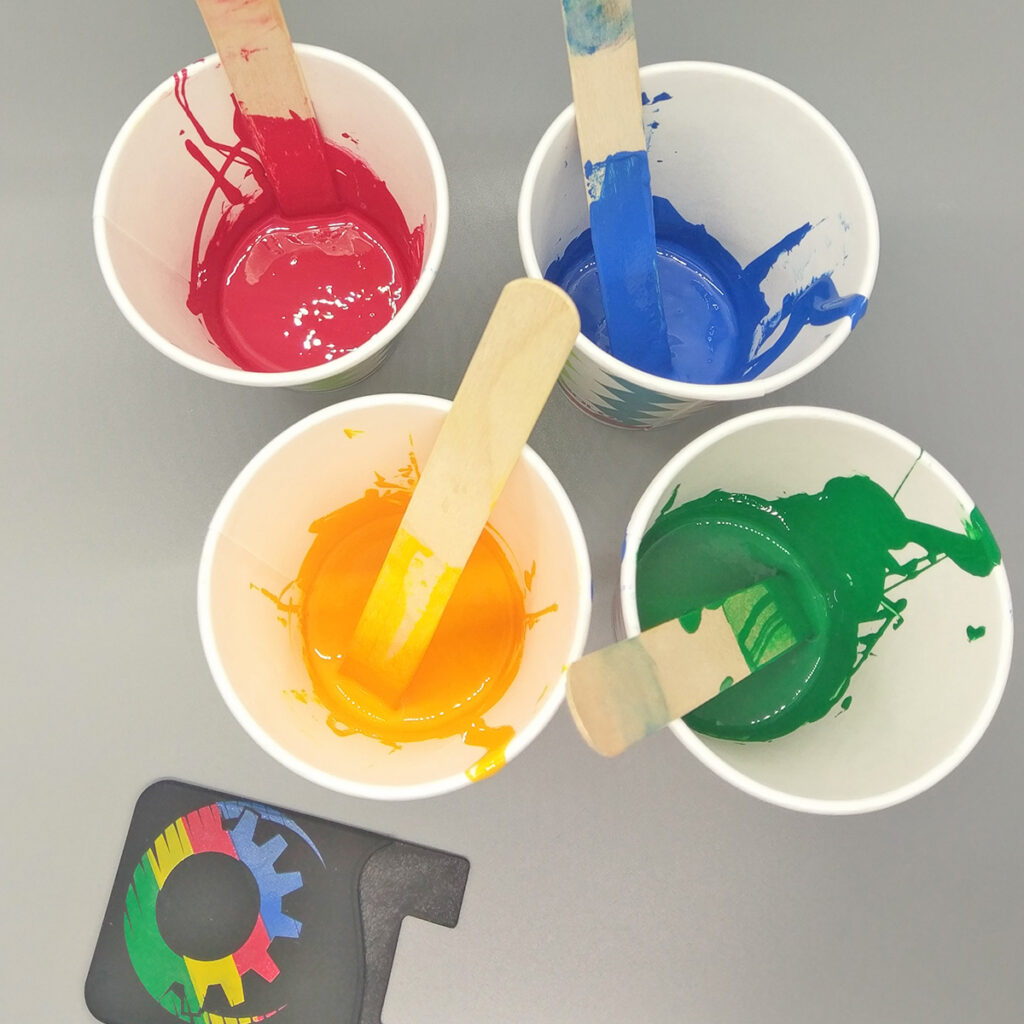 pad printing ink for silicone