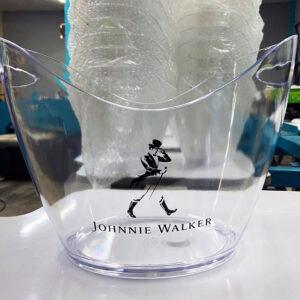 Pad print on glass with Natron™ MG Series